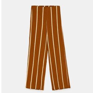 af4406f5 GORGEOUS NWT ZARA Stripe 2 Piece Set Blouse & Pant NWT